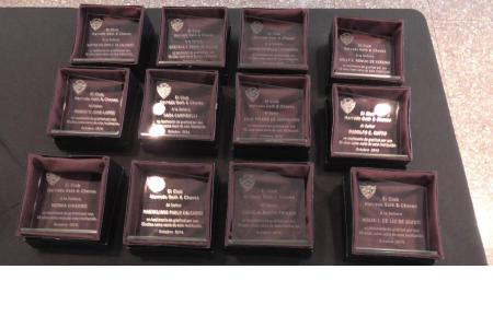 Ceremonia de premiación a socios de 25 y 50 años (2015)