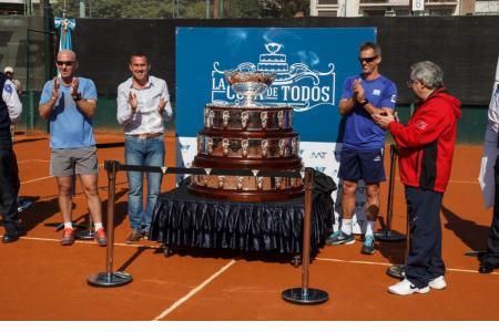 Se destapa la Copa Davis, un momento único!