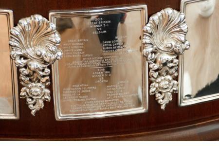 La plaqueta histórica para nuestro tenis