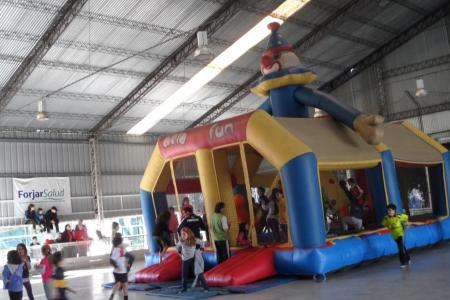 Inflable: Payaso gigante