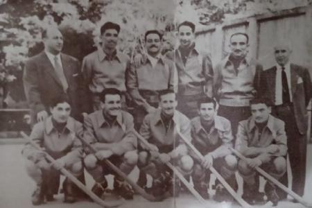 Año 1952 - El equipo de Hockey sobre Patines se consagra Campeón del primer Torneo Sudamericano de Clubes.