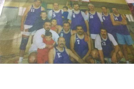 Año 1994 - Torneo Bancario de Basket - Equipo de socios