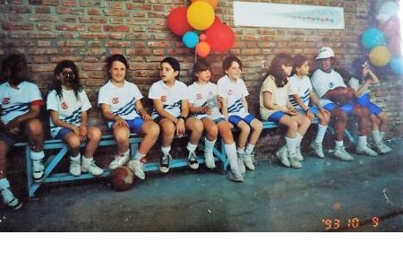 Año 1993 -  Basket Equipo de premini femenino