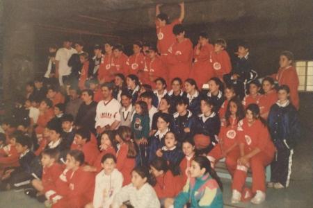 Año 1996 - Encuentro de Basket