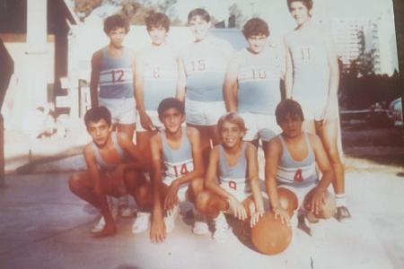 Año 1974 - Equipo de Basket