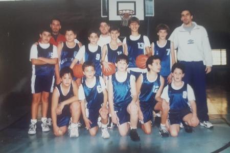Año 1995 - Equipo de minibasket