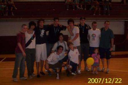 Año 2007 - Basketball Juveniles Campeones