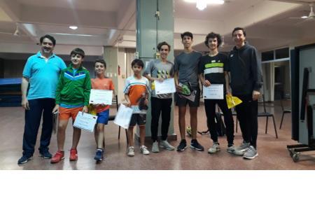 3° Torneo de Tenis de Mesa