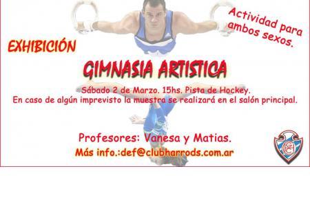 Exhibición Gimnasia Artística.