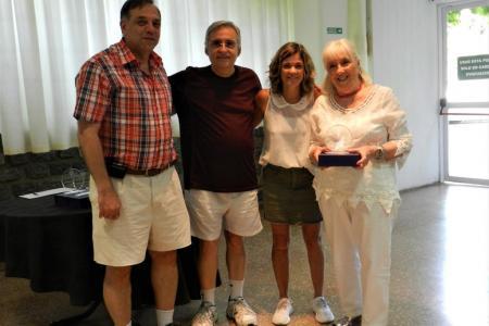Homenaje a los 25 y 50 años de socios.