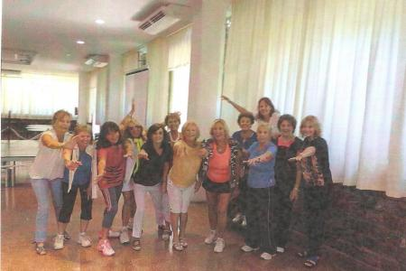 Año 2014 - Copa Oquendo - Beba, Ana, Martha, Nancy, Silvina, Pochi, Marta, Pichi, Graciela y Ana.