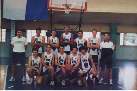 Año 1997 - Equipo de Juveniles de Basket