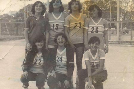 Año 1979 - Equipo de Voley Categoría Cadetas.